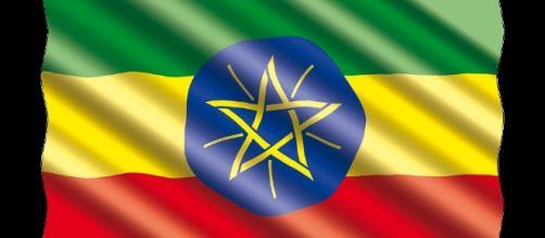 Internacional, Bandera, Etiopía por RonnyK/Pixabay