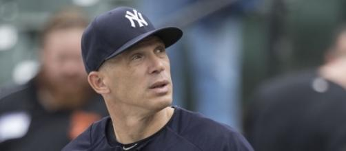 Joe Girardi said the team has to move on and focus on winning Sunday's Game 3 --[Image via Keith Allison/ WikiCommon]s