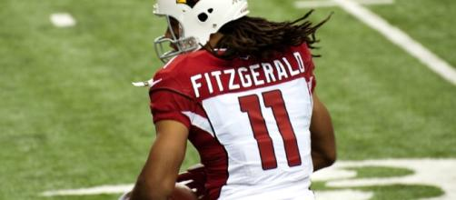 Larry Fitzgerald of Arizona Cardinals has been a perennial trade target for the Pats - [Keith Allison / Flickr]