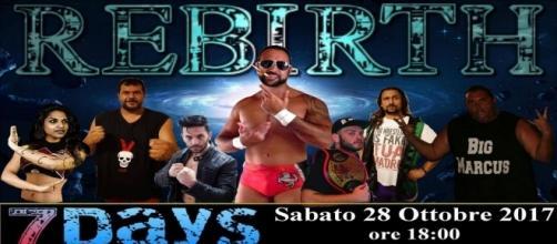 Locandina IWE Ribirth (International Wrestling Entertainiment)