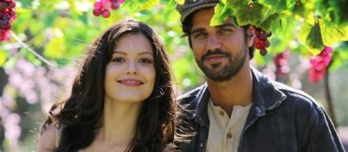 Maria Vitória foge do convento e Inácio tenta ir para Portugal (Foto: Reprodução/TV Globo)