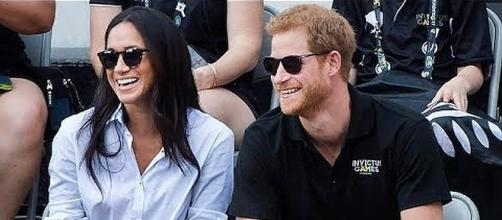 Meghan Markle and Prince Harry at the Invictus Games [Image: CBC News/YouTube screenshot]