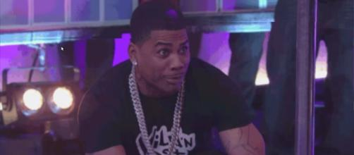 Nelly arrested for second-degree rape charges. [Image Credits: DJ Akademiks/ YouTube]