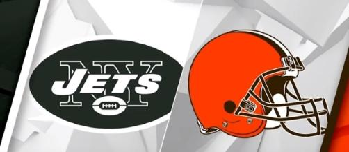 New York Jets vs. Cleveland Browns. -- Youtube screen capture / NFL
