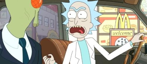 'Rick and Morty' fans freak out after McDonald's doesn't deliver on the Szechuan sauce promise {Image via Adult Swim]
