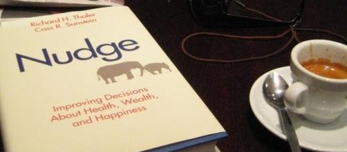 Thaler's famous book 'Nudge' by Gordon Joly via Flickr