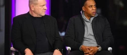 Weinstein and Jay-Z have recently come together to collaborate on a few films. [Image Credit: Handy Mayhem/YouTube]