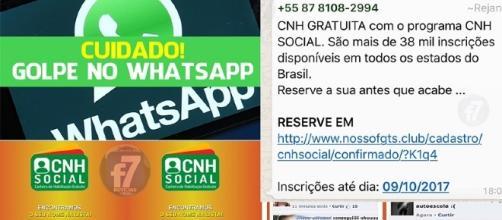 WhatsApp é novamente utilizado para práticas de crimes online