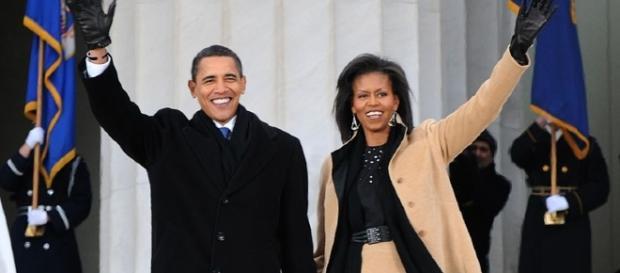 Barack Obama, Michelle Obama, Image Credit: Petty Officer 1st Class Mark O'Donald / Wikimedia