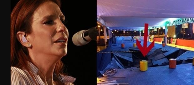Ivete interrompeu show até que prestassem socorro às vítimas