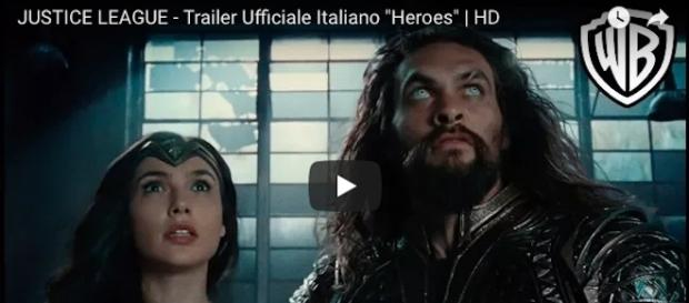 Justice League, trailer ufficiale in italiano