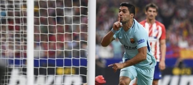 Luis Suárez manda a callar al estadio Wanda Metropolitano - laliga.es