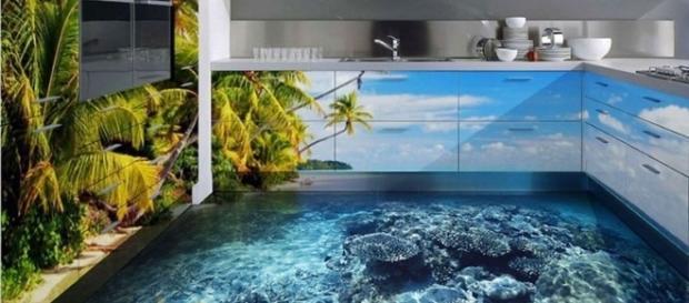 Porcelanato liquido 3D para casas