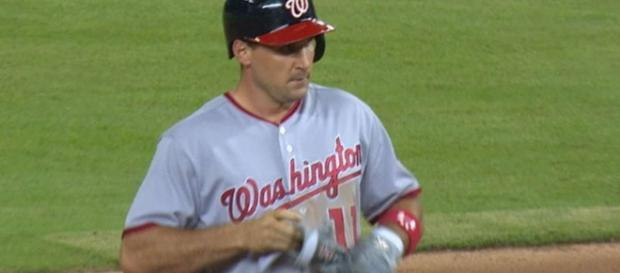 Ryan Zimmerman was a big part of today's Washington Nationals Game 2 victory. [Image via MLB/YouTube]