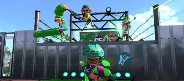 """""""Splatoon 2"""" just received a new free update that adds a map and weapon. (Nintendo/YouTube)"""