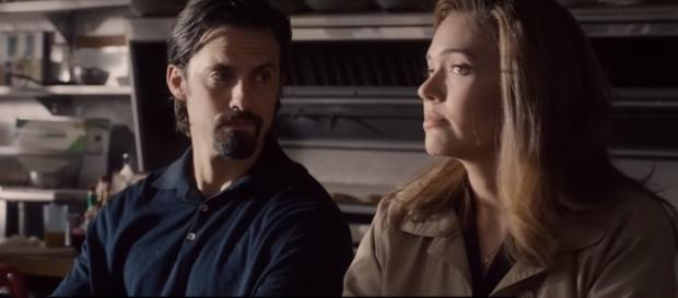 This Is Us, Milo Ventimiglia and Mandy Moore- [Image via YouTube/Access Hollywood]