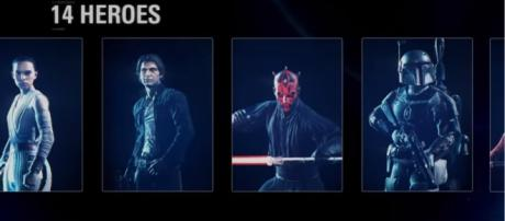 "Darth Vader joins up the special roster for ""Star Wars Battlefront II."" [Image Credits: EA Star Wars/YouTube]"