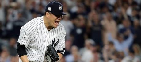 Tanaka salvó a las Yankees con una gran salida.