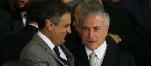 Aécio Neves sustenta apoio do PSDB a Temer