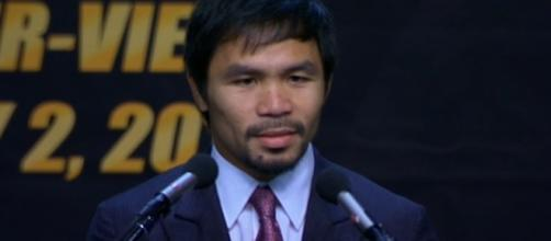 Bob Arum is prepared just in case Manny Pacquiao decides to retire/ photo by Prize Fights/ Flickr