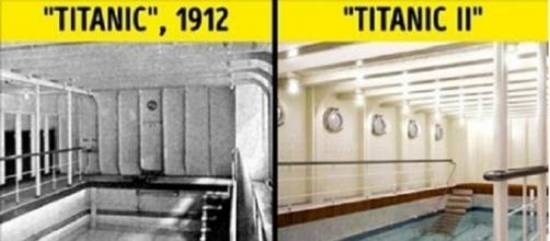 Confira as fotos do antigo e novo Titanic