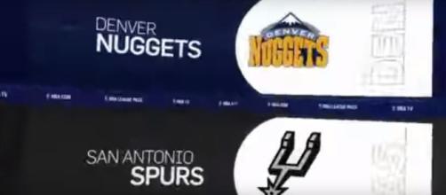 Denver Nuggets vs. San Antonio Spurs [Image Credit: Ximo Pierto/YouTube screencap]