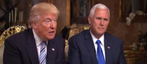Donald Trump and Mike Pence, via YouTube