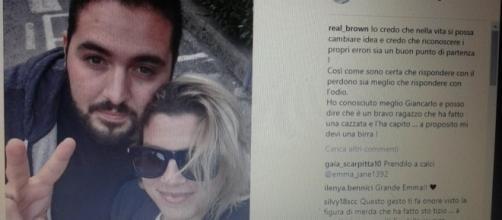 Emma Marrone ha pubblicato su Instagram una foto con il suo haters