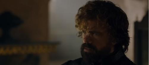 Game of Thrones 7x07 - Tyrion meets with Cersei | (Image Credit: Kristina R/YouTube Screenshot)