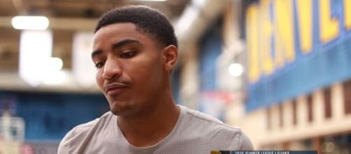 Gary Harris' mini-camp interview on July of 2016 (Image Credit: Denver Nuggets/YouTube)