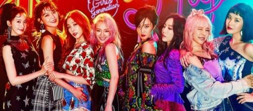"Girls' Generation ""Holiday Night"" teaser. [Image Credit: Girls' Generation/Twitter]"
