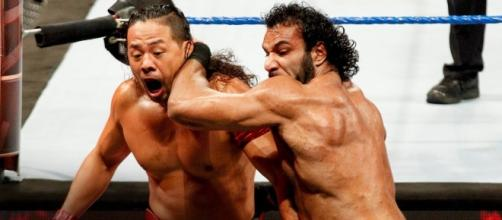 Jinder Mahal defended the WWE Championship against Shinsuke Nakamura at Sunday's 'Hell in a Cell 2017' PPV. [Image via WWE/YouTube]