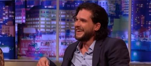 Kit Harington, Rose Leslie engagement almost canceled over April Fools' prank -- [Image Credit: The Jonathan Ross Show/YouTube