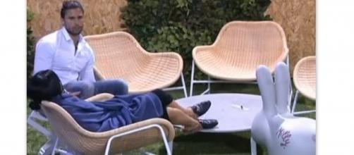 Luca Onestini lasciato in diretta da Soleil