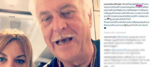 Marco Predolin pubblica una diretta su Instagram- fonte bitchyf.it