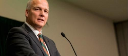 Mark Richt is a wizard at Miami. Image via A.Candee/Wikimedia Commons