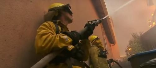 Massive forest fires rage through California: [NBC News]/[Youtube]