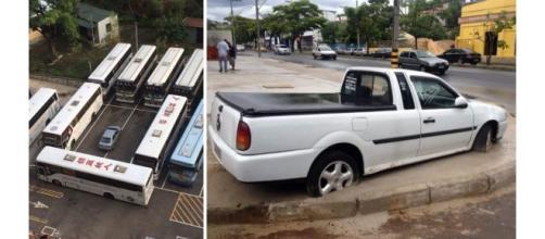 Motoristas que se deram mal ao estacionar