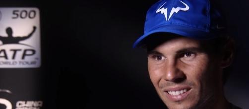 Rafael Nadal during an interview in Beijing/ Photo: screenshot via ATPWorldTour channel on YouTube
