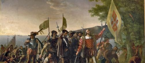 The landing of Columbus [Image Credit: Architect of the US Capitol/Wikimedia Commons]