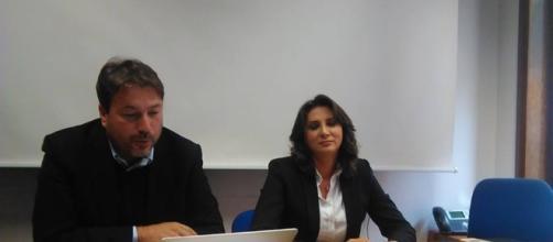 Tomaso Montanari e Anna Falcone (foto esclusiva BN)