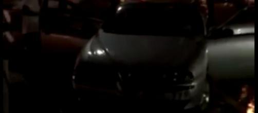 Un'auto guidata da donna di 39 anni è finito mare mentre era a bordo della propria auto
