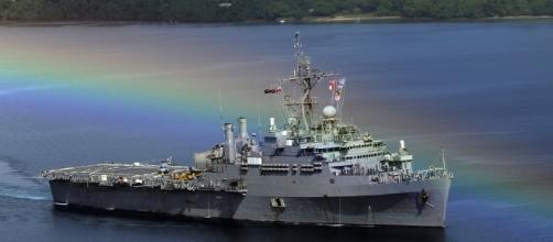 US Navy warship at Pearl Harbor - Photo via: Pixabay
