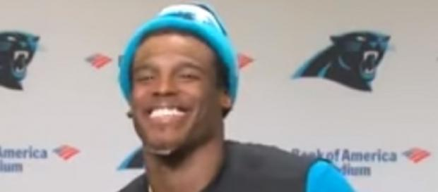 Cam Newton can smile now after leading the Panthers to back-to-back wins -- Sports And News via YouTube