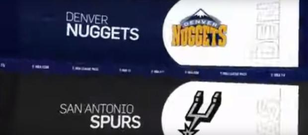 Denver Nuggets vs. San Antonio Spurs [Image Credit: Ximo Pierto/YouTube screencap]