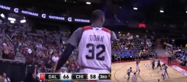 Kris Dunn in a preseason game against the Dallas Mavericks (Image Credit: FreeDawkins/Youtube)