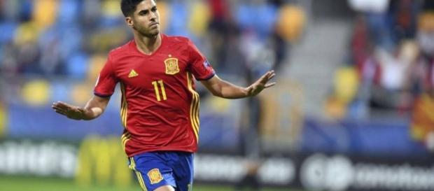 Marco Asensio, jugador internacional con España- elconfidencial.com