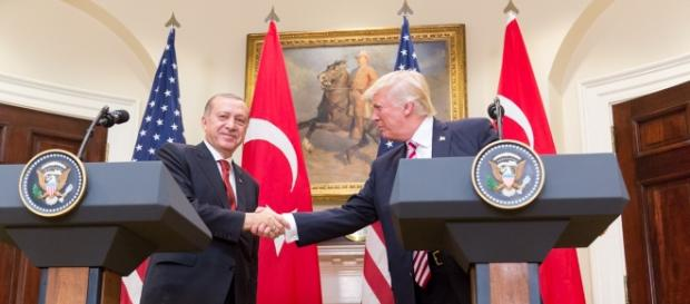 President Trump and President Erdoğan at the White House/image - whitehouse.gov