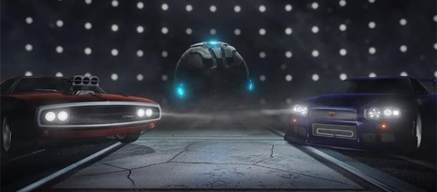 "Psyonix is adding two more ""Fast & Furious"" cars to ""Rocket League"" this Wednesday. (Image Credit: Rocket League/YouTube)"