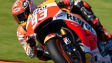 Marquez in pole anche a Valencia